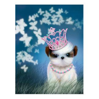 Puppy Princess Postcard