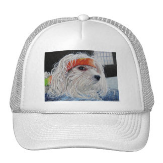 Puppy Punk Trucker Hat