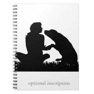 Puppy Raiser Note! Optional Custom Inscription Notebook