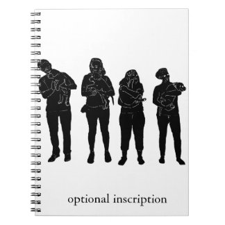 Puppy Raisers Note! Optional Custom Inscription Notebook