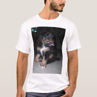 puppy raspberry *personalize* T-Shirt