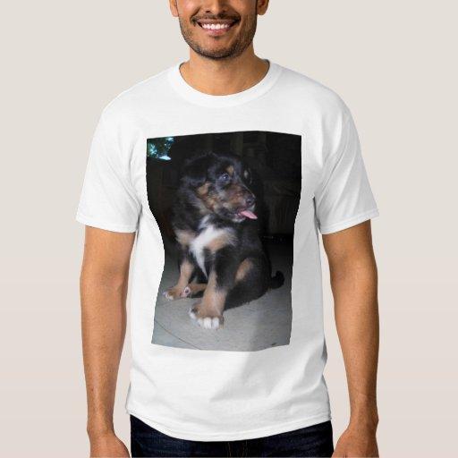 puppy raspberry *personalize* t shirts