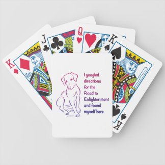 Puppy Road to Enlightenment Card Deck