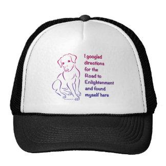 Puppy Road to Enlightenment Trucker Hat