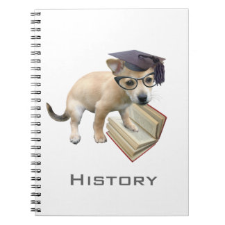 Puppy Scholar Notebook