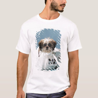 Puppy sitting in handbag T-Shirt