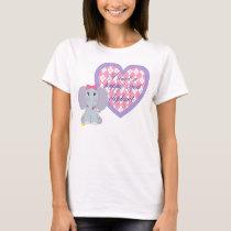 Puppy Sized Elephant T-Shirt