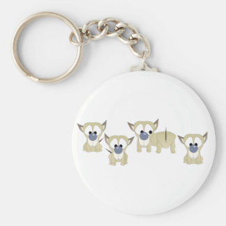Puppy Surprise Key Chain