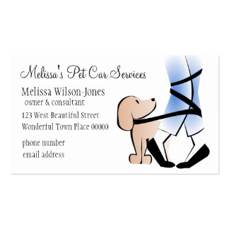 Puppy Tangle Double-Sided Standard Business Cards (Pack Of 100)