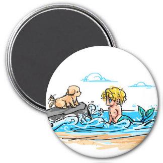 puppy!tazer & mermaid!kaner magnet