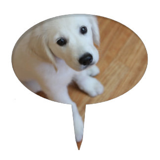 Puppy template cake topper