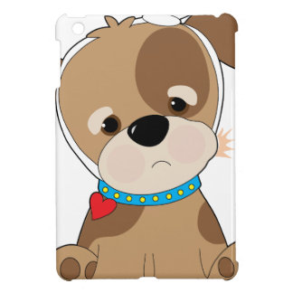 Puppy Toothache iPad Mini Cover