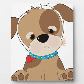 Puppy Toothache Plaque