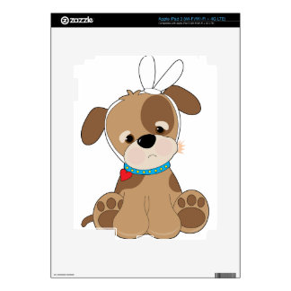 Puppy Toothache Skins For iPad 3