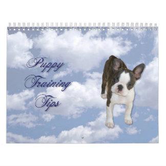 Puppy Training Tips Calendar