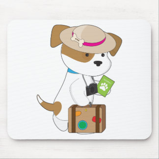 Puppy Travel Mouse Pad
