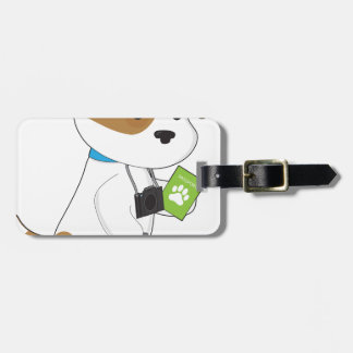 Puppy Travel Tag For Bags