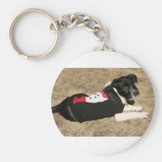 Puppy Tux Keychain
