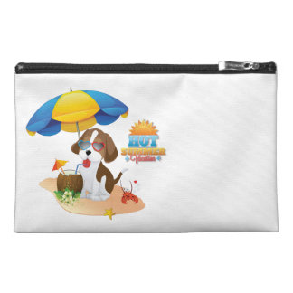 Puppy vacation travel accessories bag