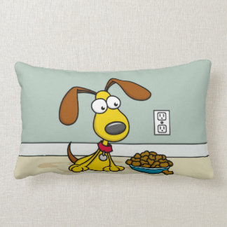 Puppy with Food Pillow