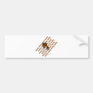 Puppy Woof Bumper Sticker