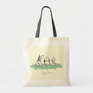 puppybutts tote bag