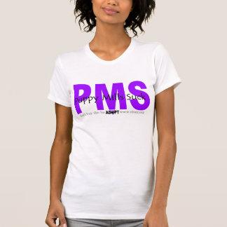 Puppymills púrpura chupa la camiseta playera