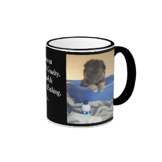 Puppy's Bath Time Campaign Ringer Mug