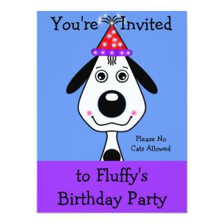 Puppy's Birthday Invitations