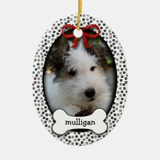Puppy's First Christmas Christmas Ornament