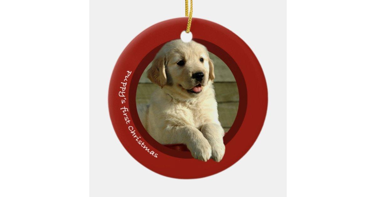 Golden Retriever Christmas Ornaments