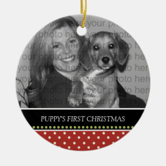 Puppy's First Christmas Keepsake Ornaments