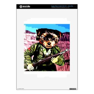 Puppy's War iPad 3 Decals