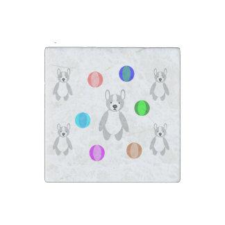 Puppys y bolas imán de piedra