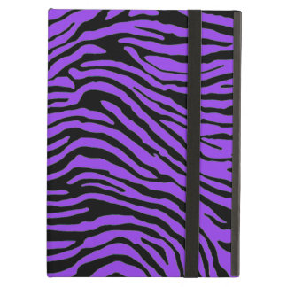 puprle and black zebra stripe powis ipad  case