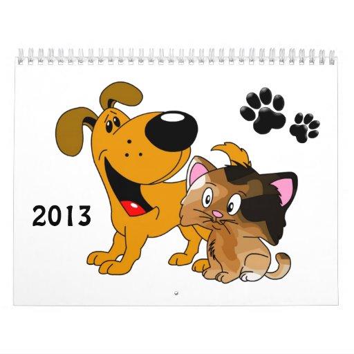 Pups and Kittens Calendar