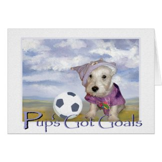 Pup's Got Goals Card