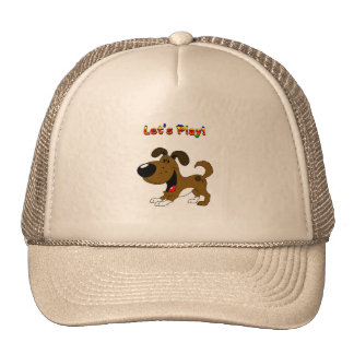 Pup's Invitation to Play! Hat