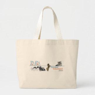 PUPs Logo Merchandise Bag
