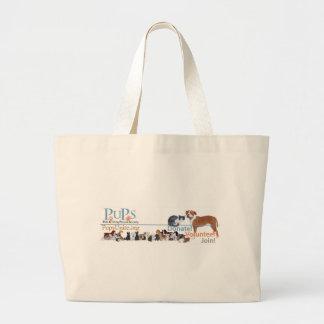 PUPs Logo Merchandise Bags