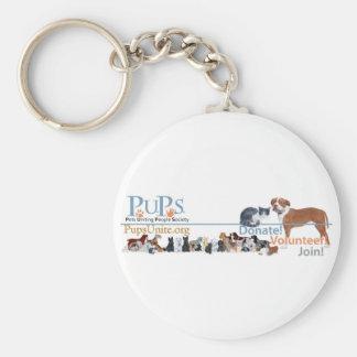 PUPs Logo Merchandise Keychain