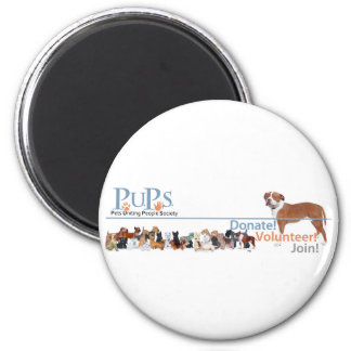 PUPs Logo Merchandise Magnet
