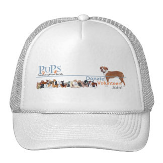 PUPs Logo Merchandise Mesh Hats