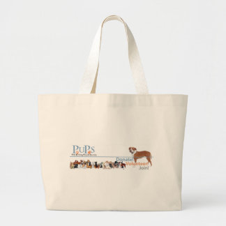 PUPs Logo Merchandise Tote Bag