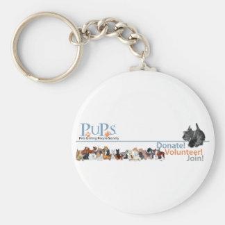 PUPs Logo Merchandise with Scottie Key Chain
