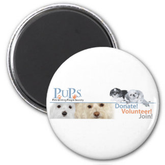 PUPs Logo Merchandise with Shih Tzu Fridge Magnets