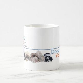 PUPs Logo Merchandise with Tabby Cat Coffee Mug