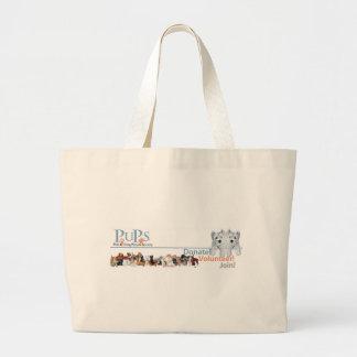 PUPs Logo Merchandise with Westie Pups Bags