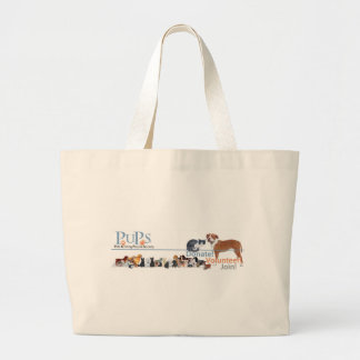 PUPs Logo with Dogs and Cats Bags