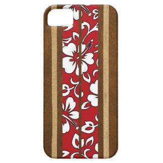 Pupukea Hibiscus Hawaiian Surfboard iPhone 5 Cases iPhone 5 Cases